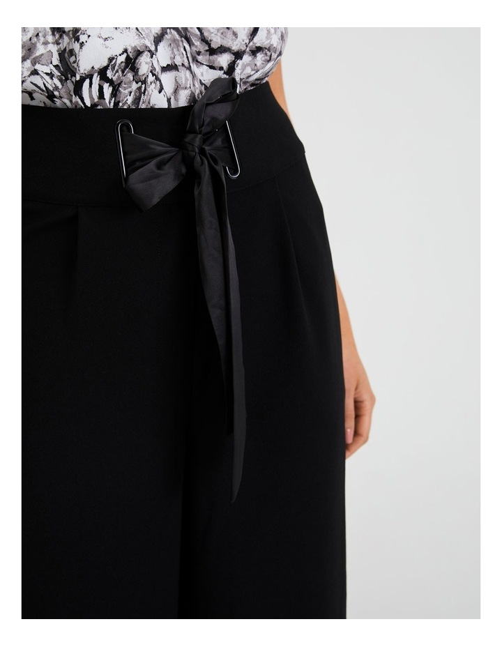 Wide Leg Pant With Tie image 5