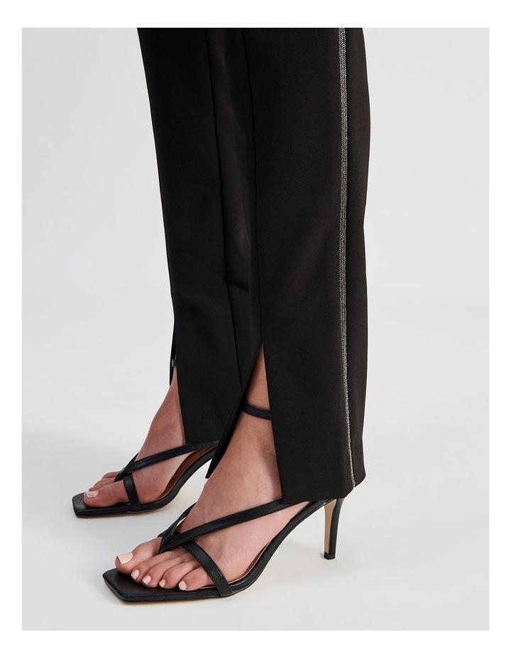 Split-Front Black Pant image 5
