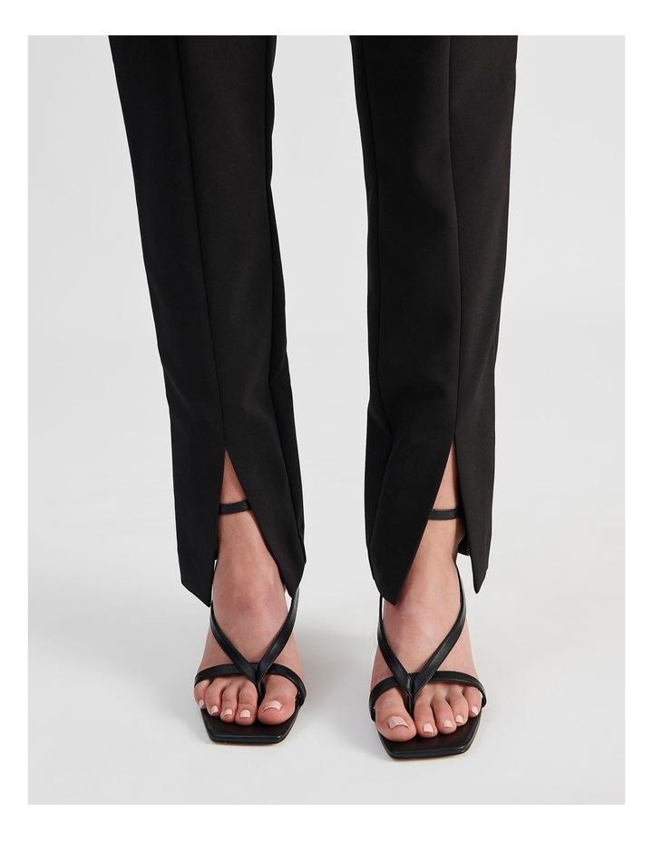 Split-Front Black Pant image 6