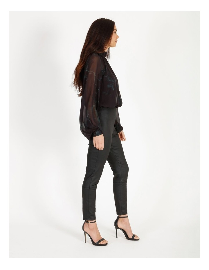 Coated Side Zip Jean image 3