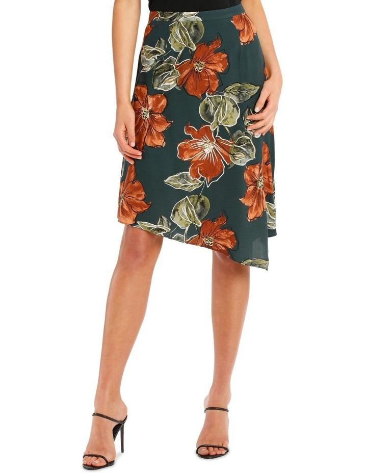 Hem Printed Peak Skirt image 1