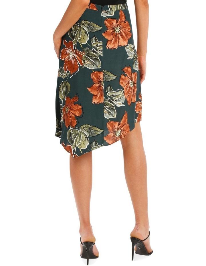Hem Printed Peak Skirt image 3
