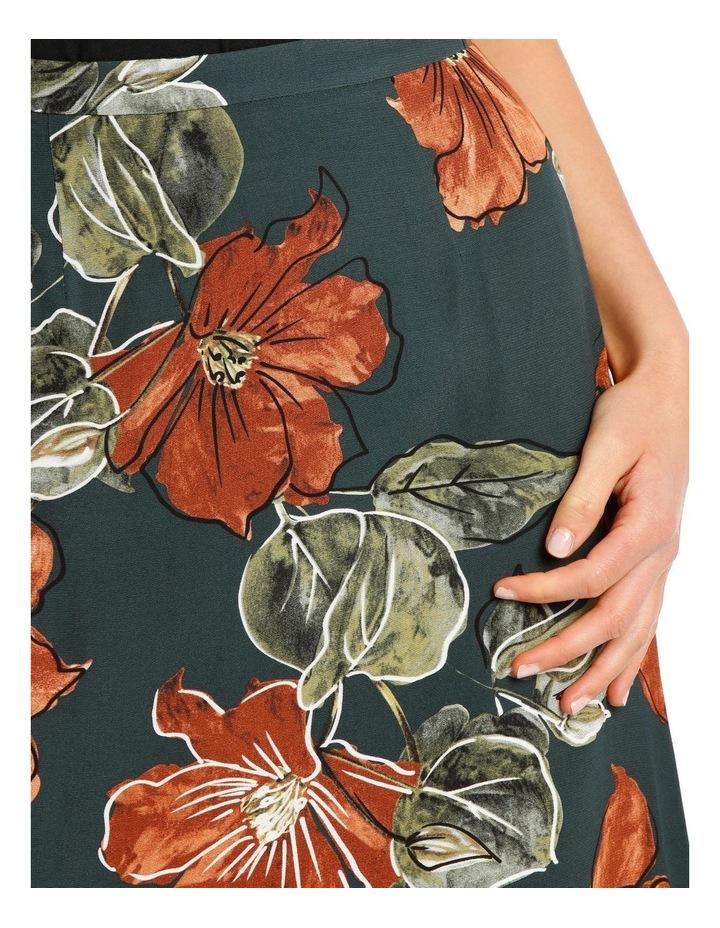 Hem Printed Peak Skirt image 4