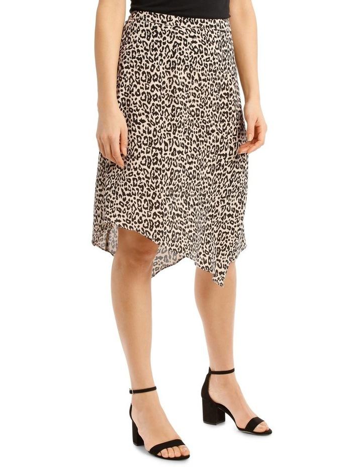 Peak Hem Print Skirt image 2