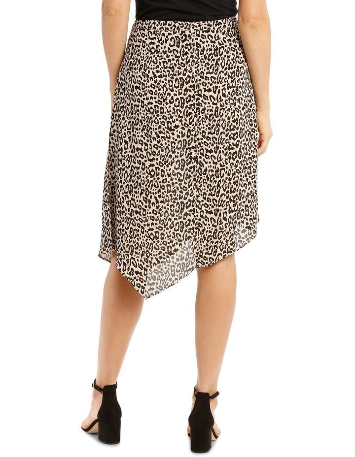 Peak Hem Print Skirt image 3