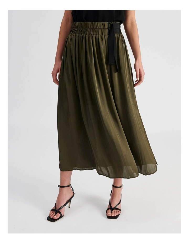 D Ring Pleated Skirt image 1