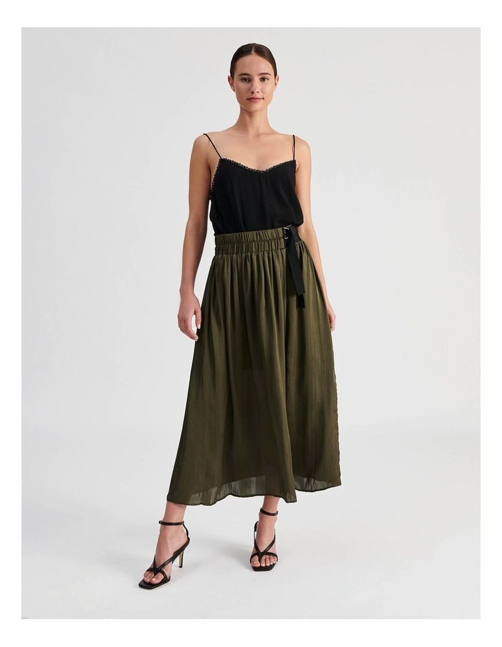 D Ring Pleated Skirt image 2