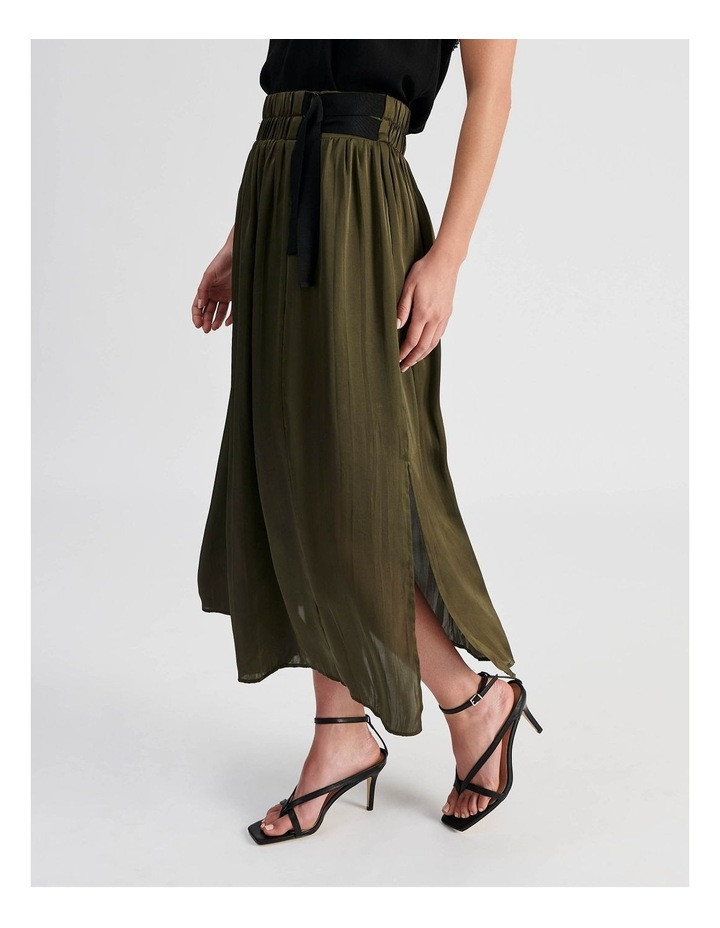 D Ring Pleated Skirt image 3