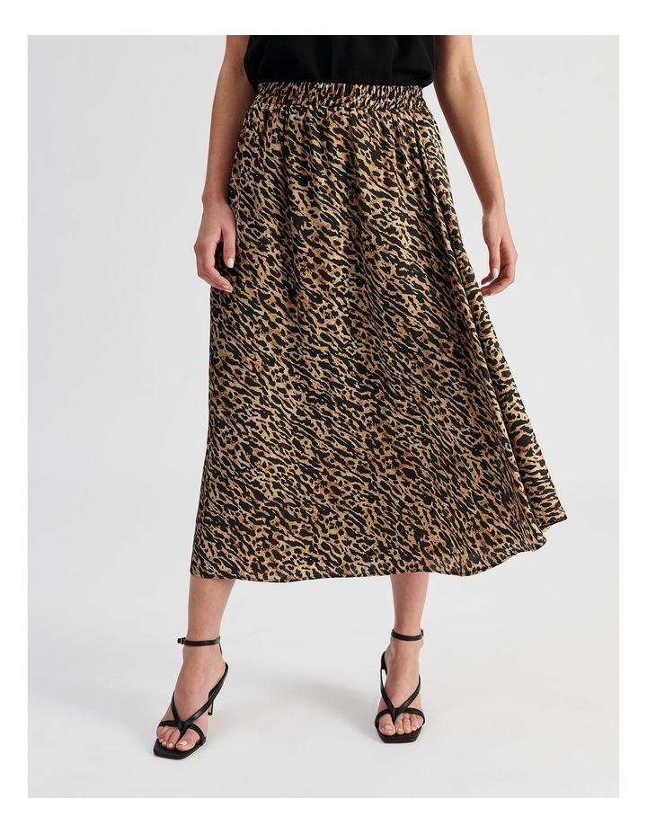Satin Animal Skirt image 1