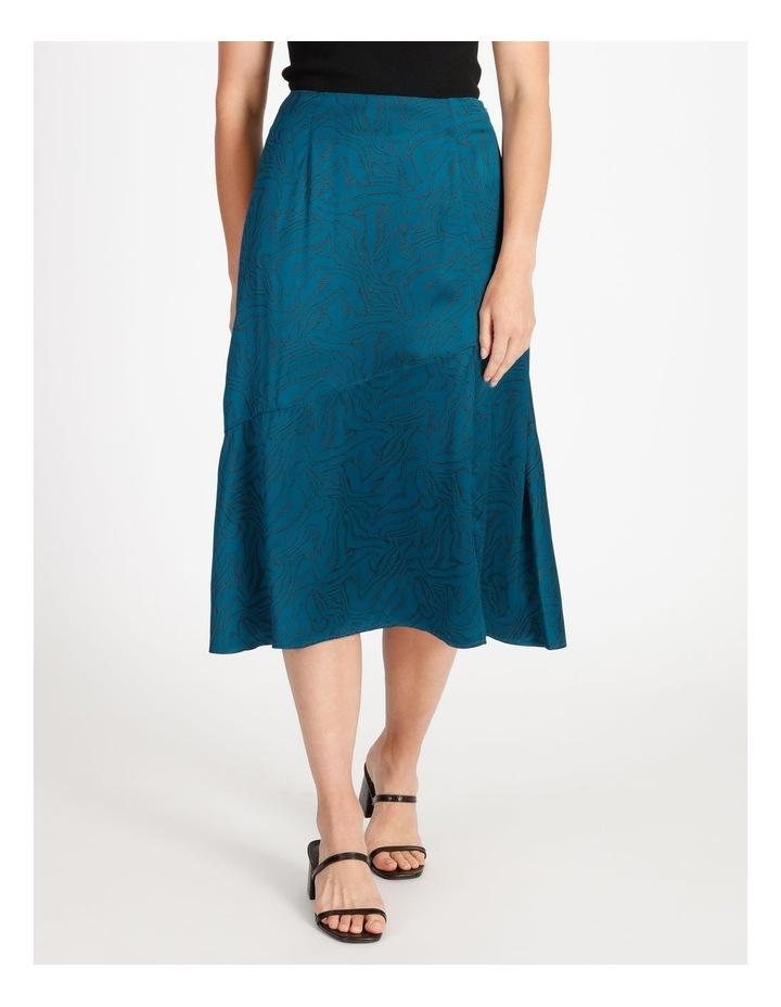 Asymmetrical Split Front Skirt image 1