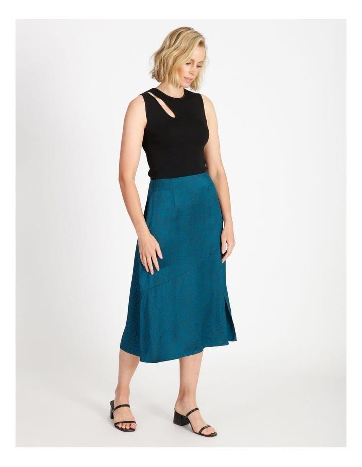 Asymmetrical Split Front Skirt image 2