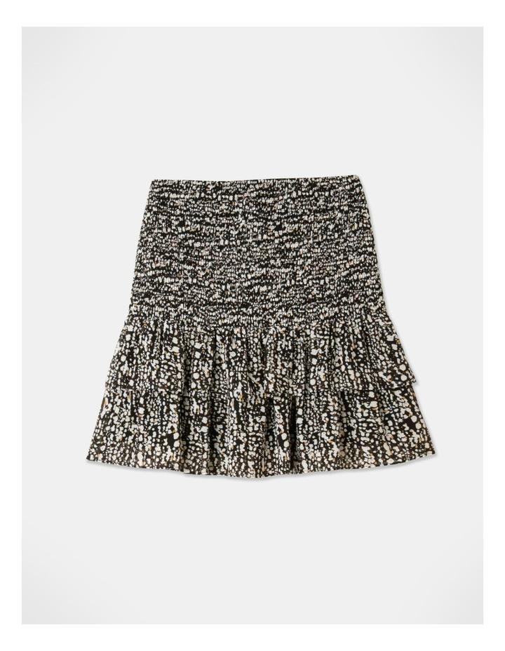 Shirred Frill Mini Skirt image 1