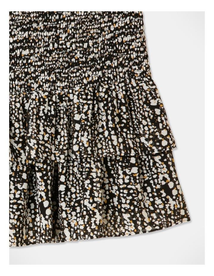 Shirred Frill Mini Skirt image 2