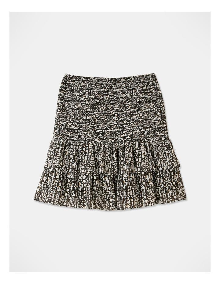 Shirred Frill Mini Skirt image 3