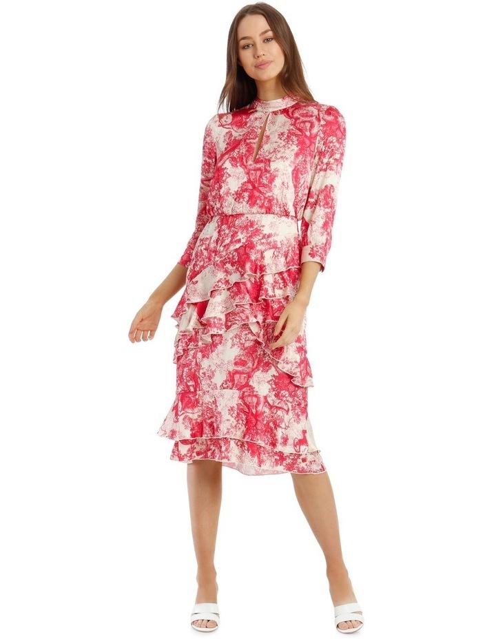 Ruffled Hi-Low Dress image 1
