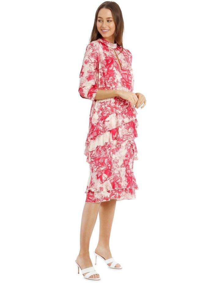 Ruffled Hi-Low Dress image 2