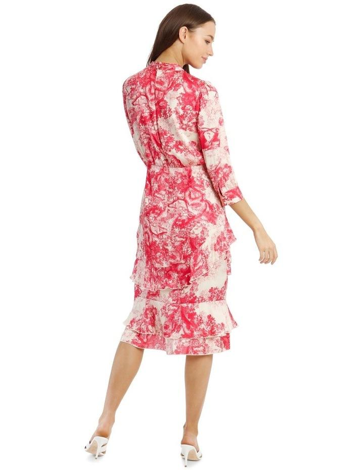 Ruffled Hi-Low Dress image 3