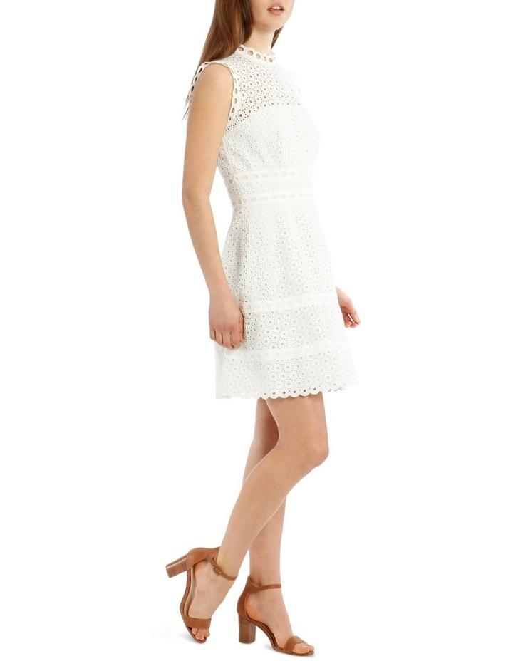 Contrast Lace Combo Dress image 2