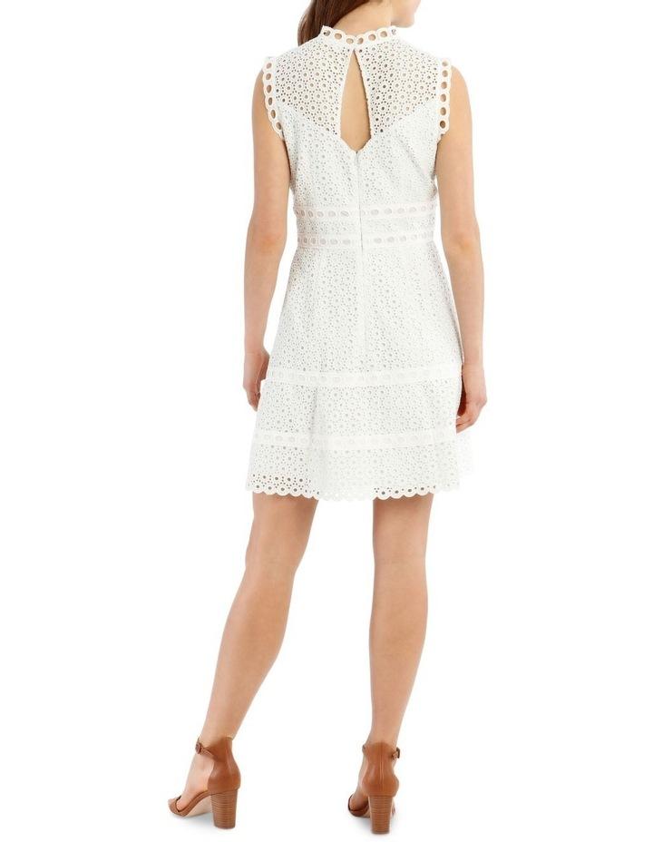 Contrast Lace Combo Dress image 3