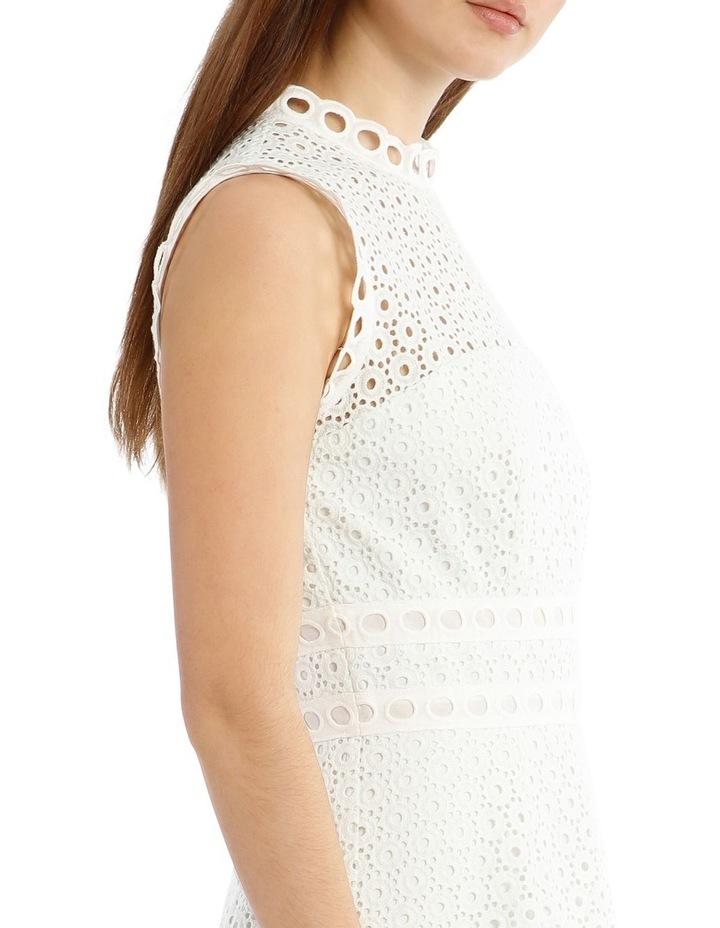 Contrast Lace Combo Dress image 4