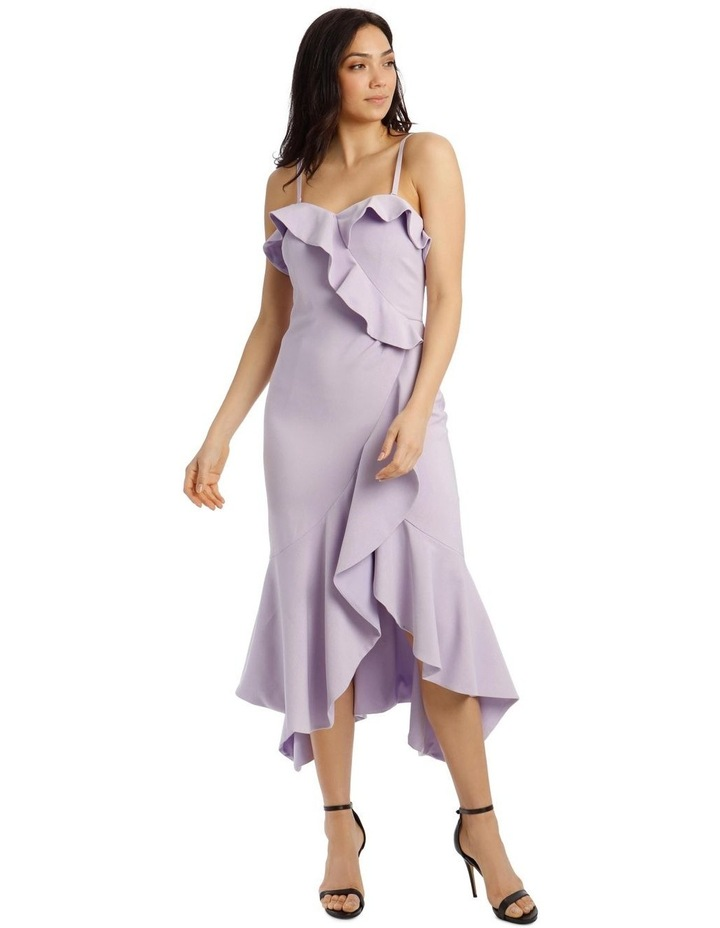 One Shoulder Bonded Short Length Dress image 1