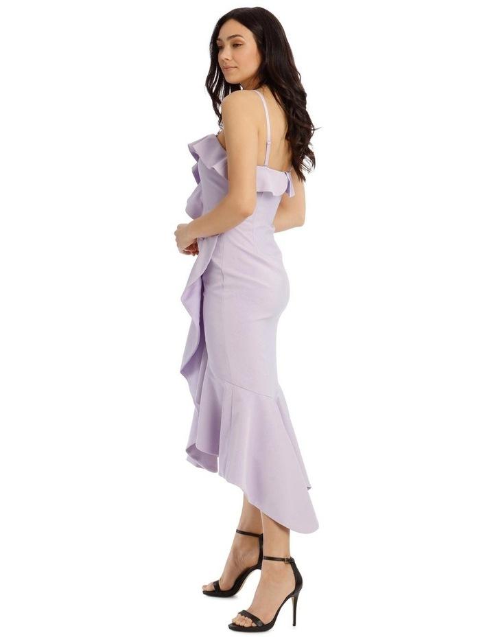 One Shoulder Bonded Short Length Dress image 2