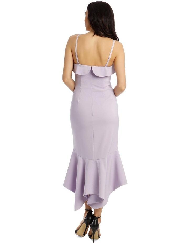 One Shoulder Bonded Short Length Dress image 3