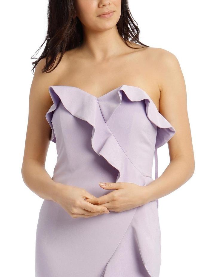 One Shoulder Bonded Short Length Dress image 4
