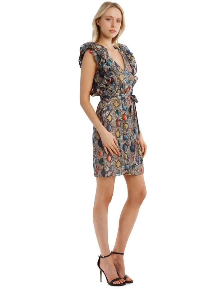 Multi Ruffles Printed Dress image 2