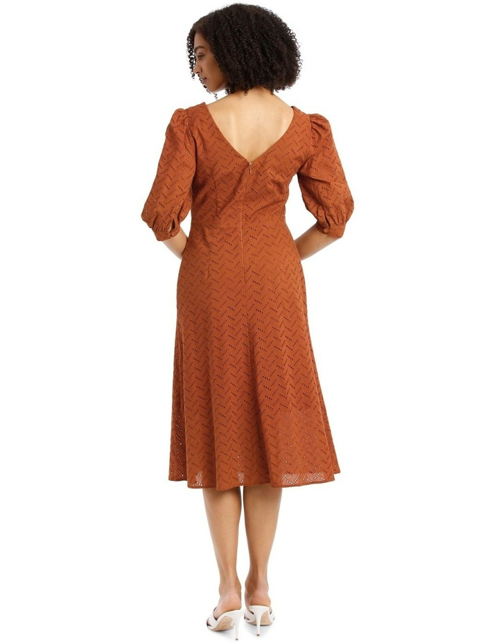 Multi Button Broderie Dress image 3