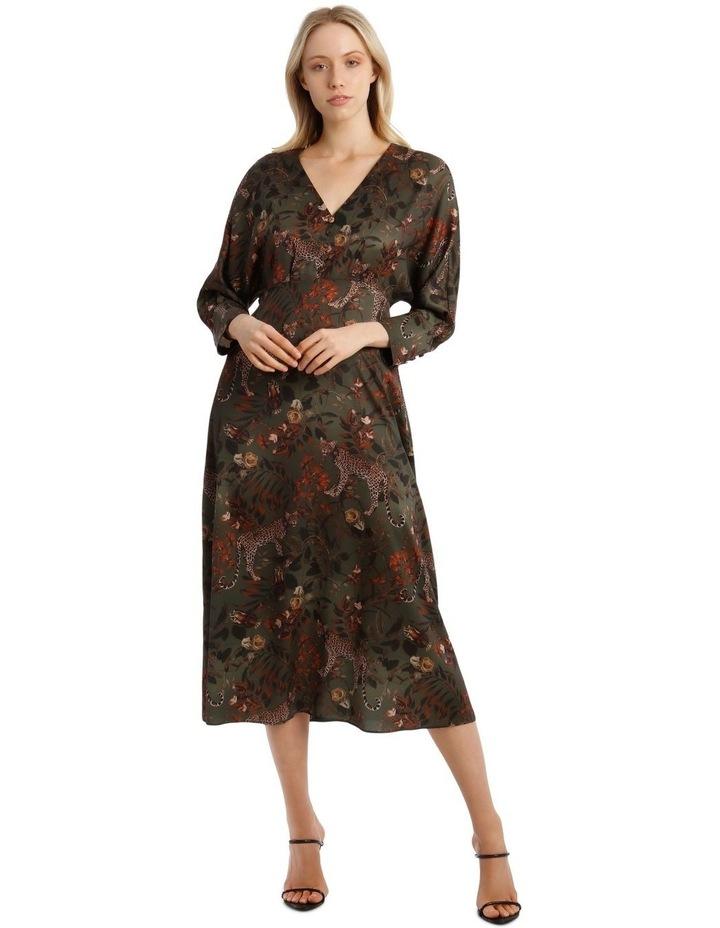 Floral Leopard Dress image 1