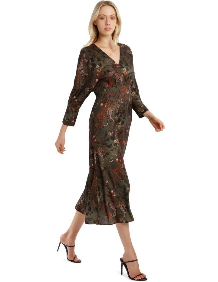 Floral Leopard Dress image 2