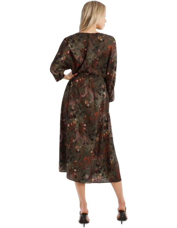 Floral Leopard Dress image 3