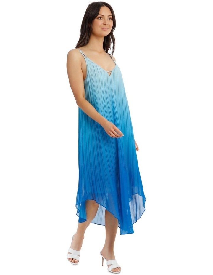 Ombre Vee Neck Dress image 1