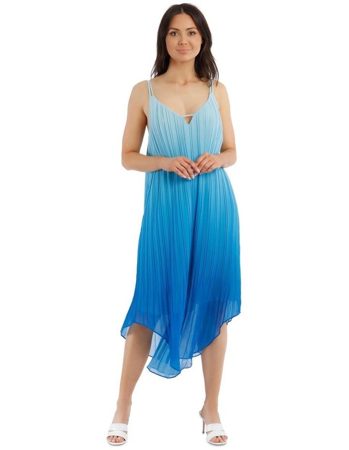 Ombre Vee Neck Dress image 2
