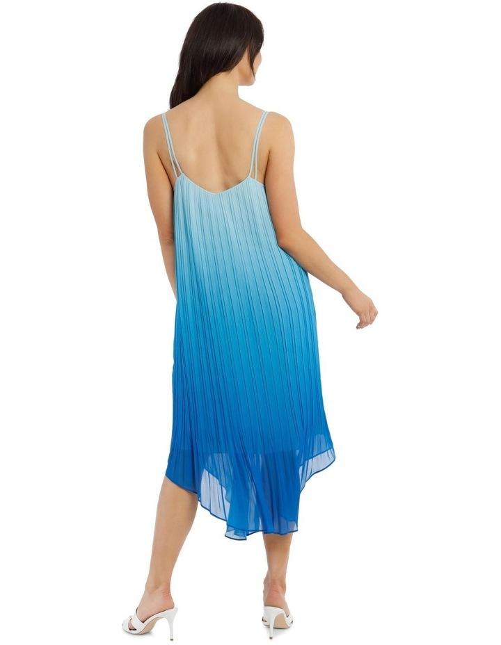 Ombre Vee Neck Dress image 3