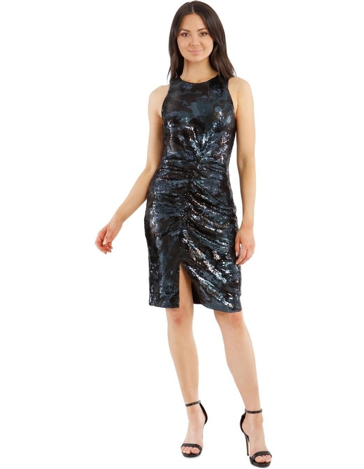 Sequin Rouched Dress image 1