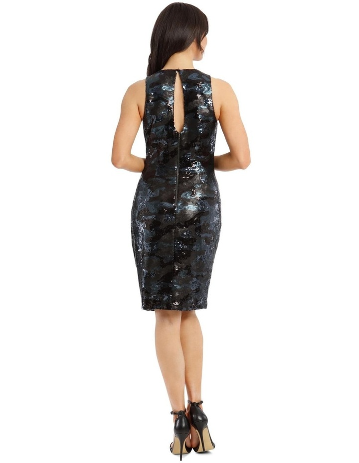 Sequin Rouched Dress image 3