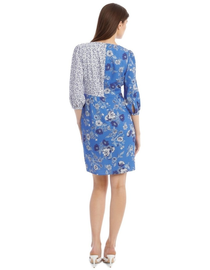 Spliced Floral Dress image 3