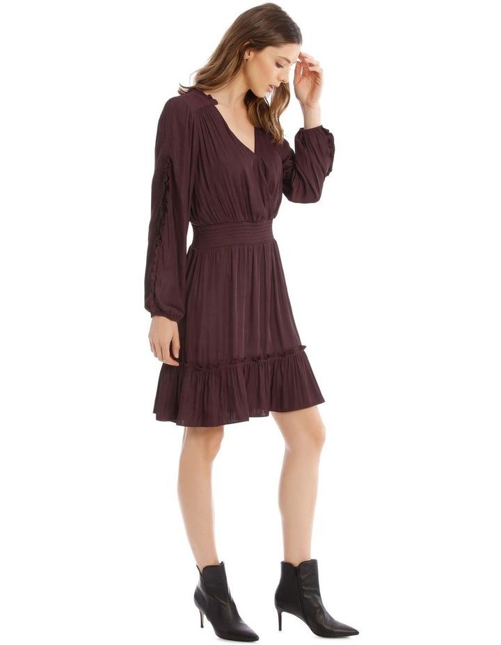 Ruffle Wrap Dress image 2