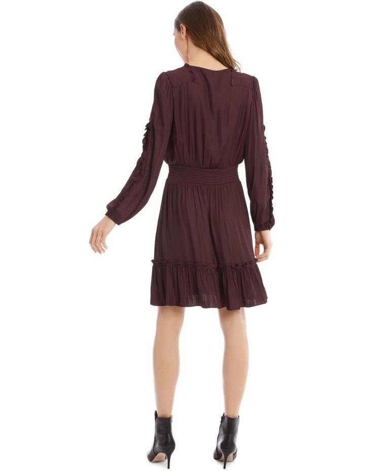 Ruffle Wrap Dress image 3