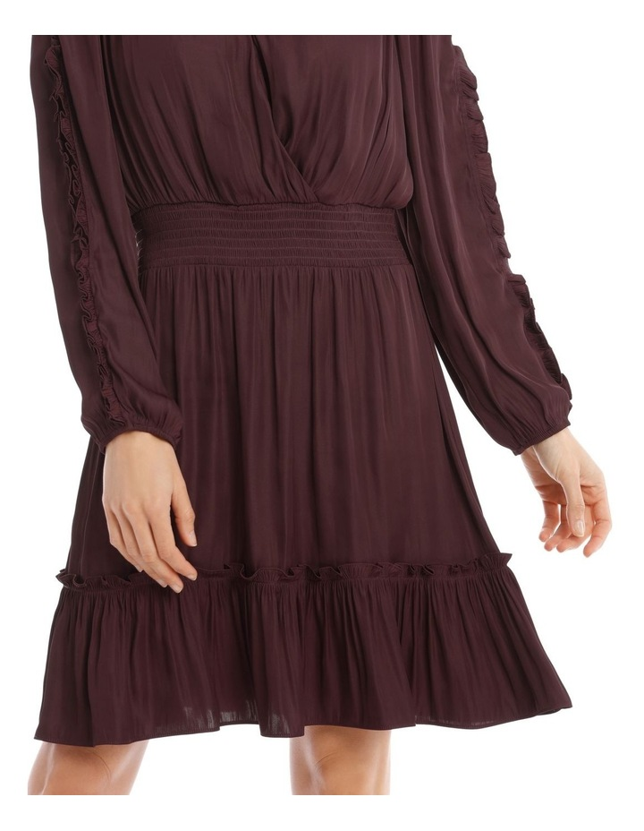 Ruffle Wrap Dress image 4