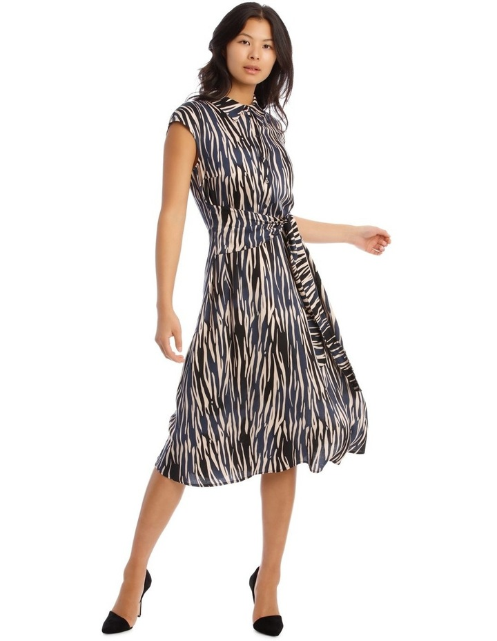 Shirt Dress with Tie image 1