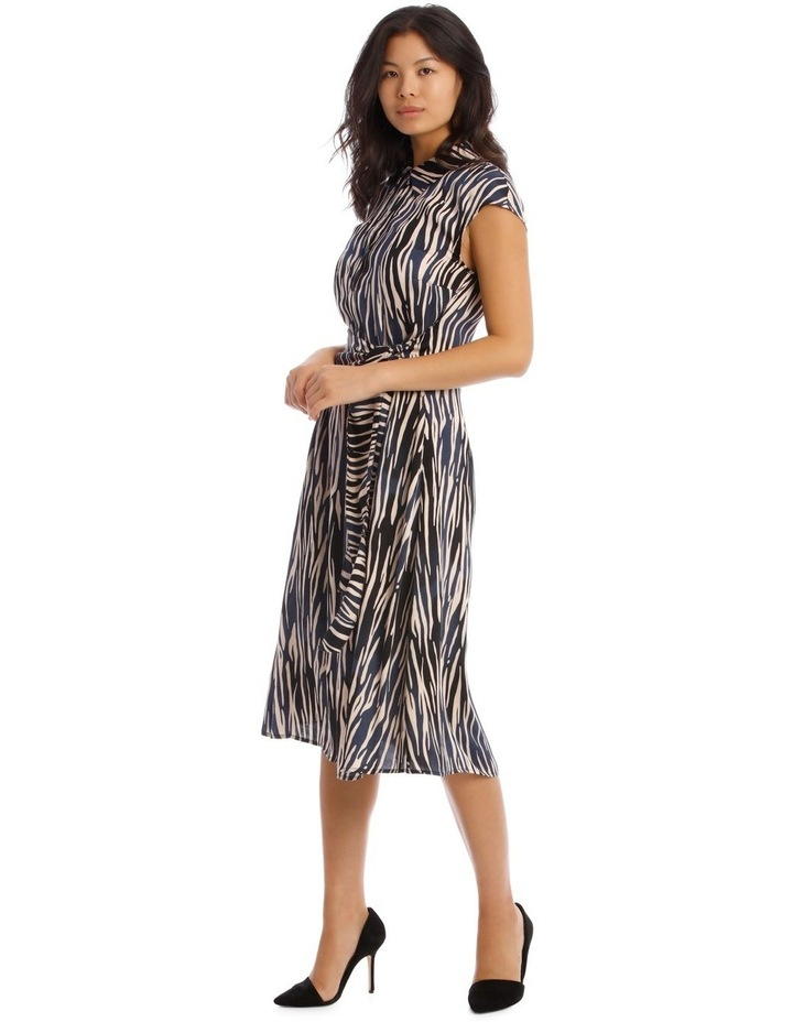 Shirt Dress with Tie image 2