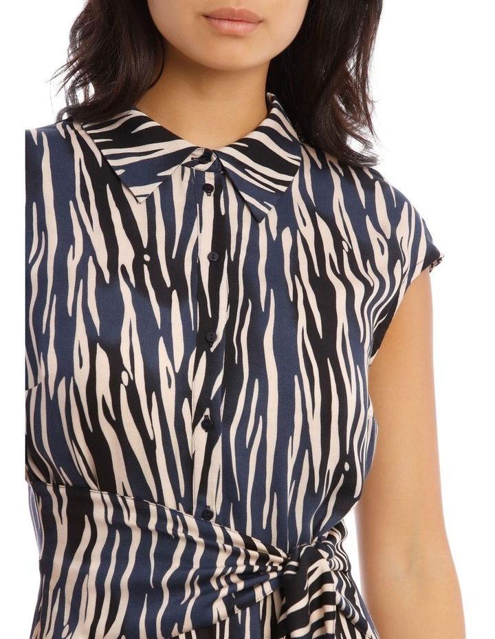 Shirt Dress with Tie image 4