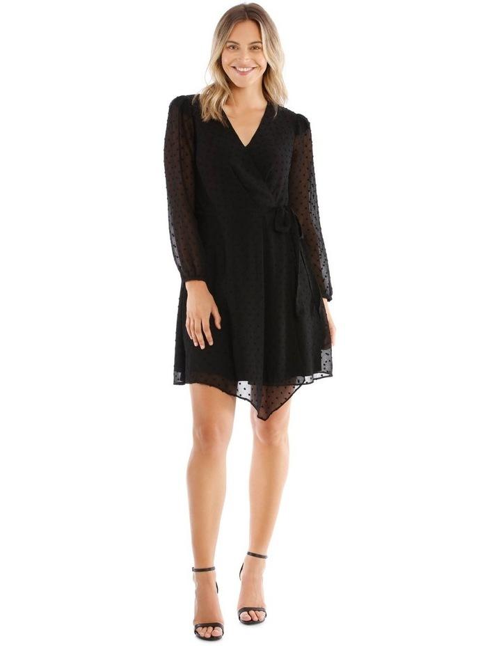 Asymmetric Wrap Dress image 1