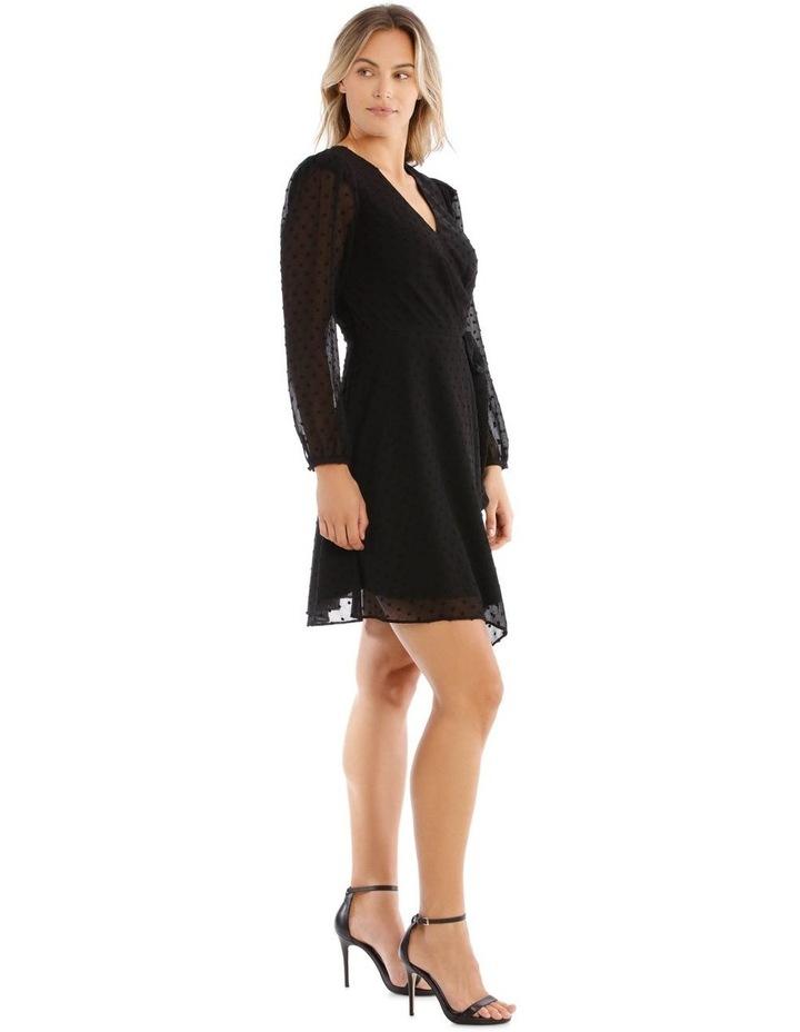 Asymmetric Wrap Dress image 2