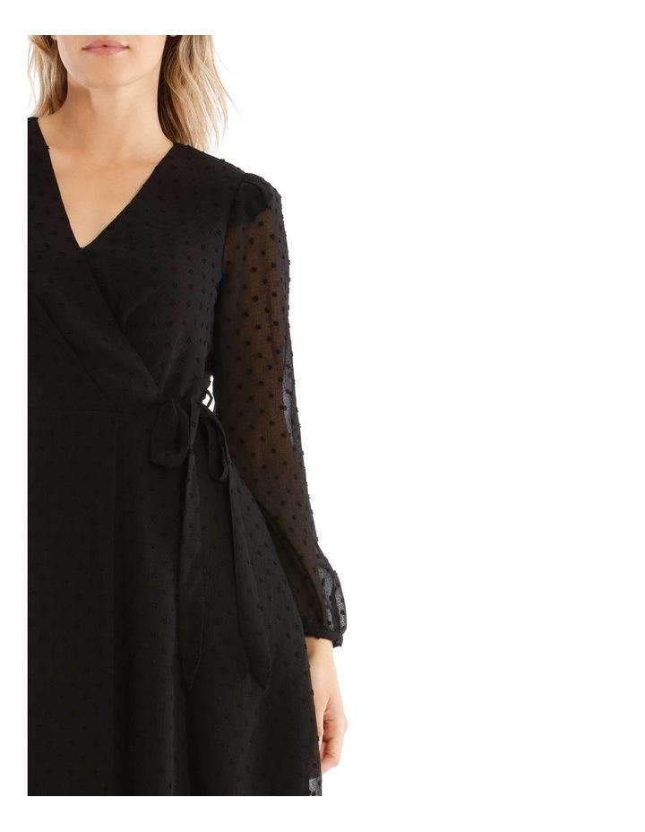 Asymmetric Wrap Dress image 4
