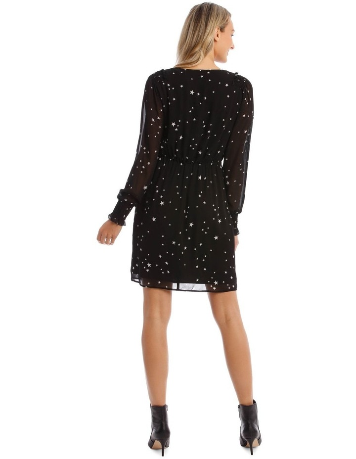 Star Wrap Dress image 3