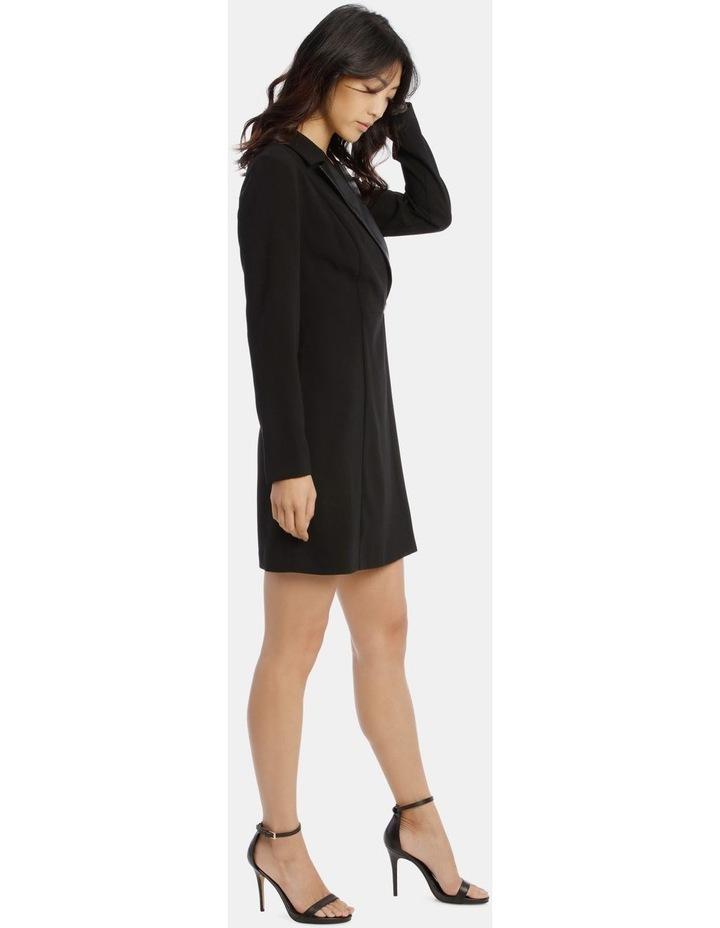 Tuxedo Dress with Pleather Trim image 2